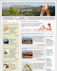 nowy serwis IP:tourism o wczasach odchudzających