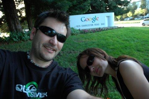 Skoro Google ma taką skuteczność warto było zobaczyć to osobiście /Silicon Valley (Mountain View), Cailfornia - 2007/