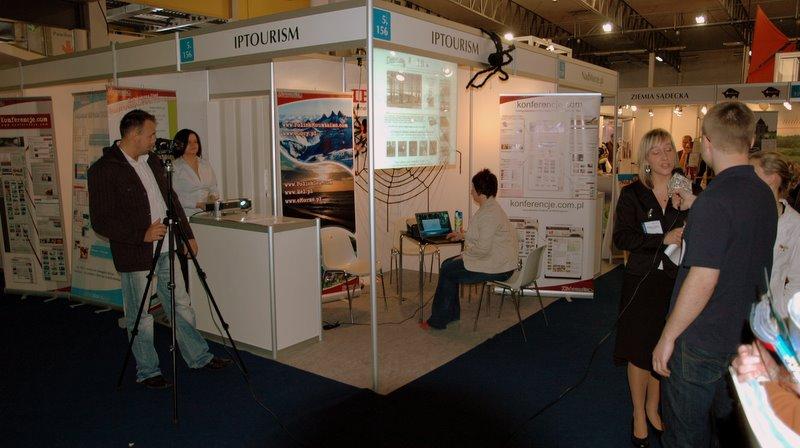 wywiady na stoisku IP:tourism