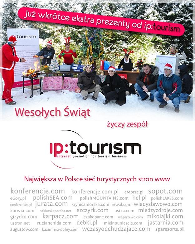 życzenia iptourism 2010 - Boże Narodzenie i Nowy Rok