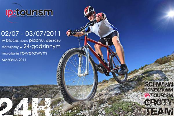 IP:tourism na mazovia 24 marathon 2011 / Wieliszew